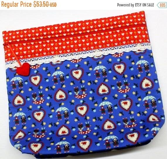 SALE MORE2LUV Bavarian Love Cross Stitch Project Bag