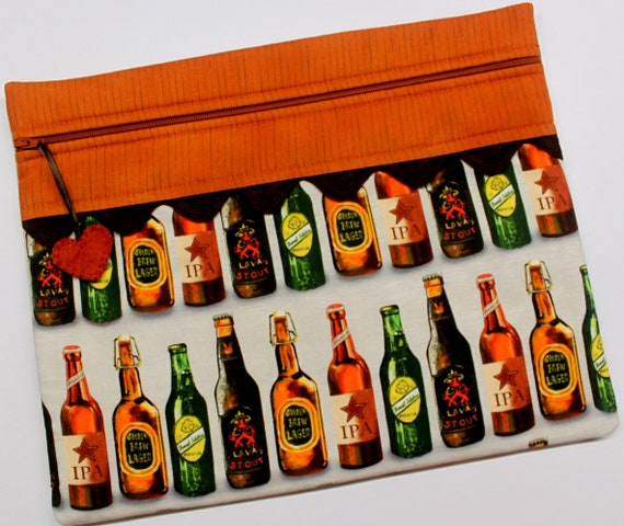 99 Bottles of Beer Cross Stitch Project Bag