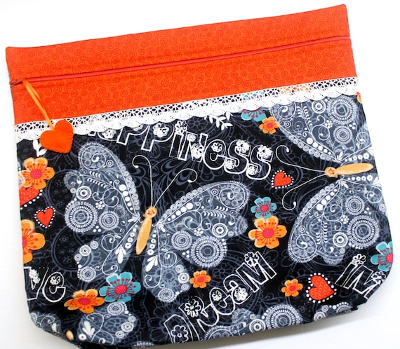 MORE2LUV Dream Butterfly Cross Stitch Project Bag