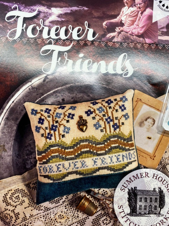 Summer House Stitche Workes - Limited Edition Forever Friends Kit - New