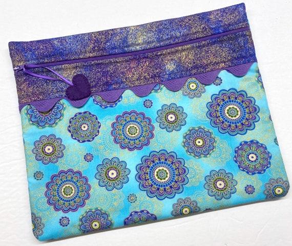 Golden Medallion Cross Stitch Project bag