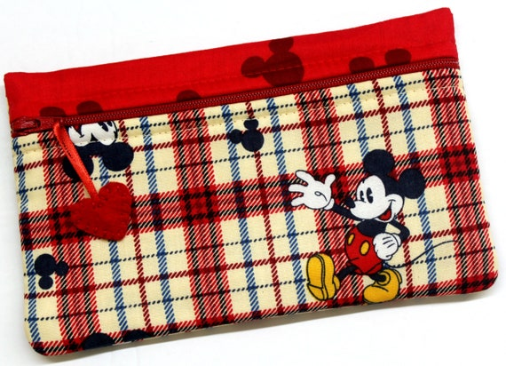 Side Kick Plaid Mickey