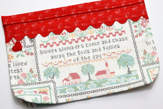 LOTS2LUV Sweet Slumbers Cross Stitch Project Bag
