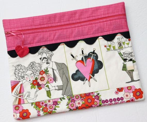 Ghastlies Love Cross Stitch Project Bag