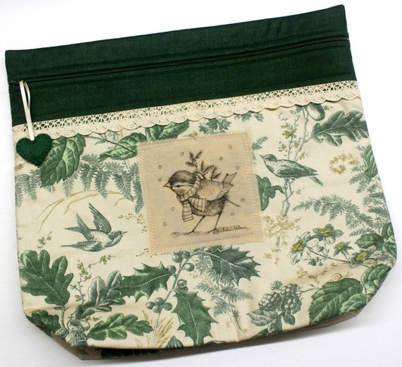 MORE2LUV Limited Edition Bird #1 Project Bag