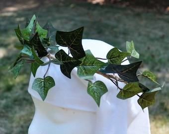 e87877e89 English Ivy Leaf Crown. Ivy Leaf Crown. Ivy Garland. Green Ivy Crown  Headpiece