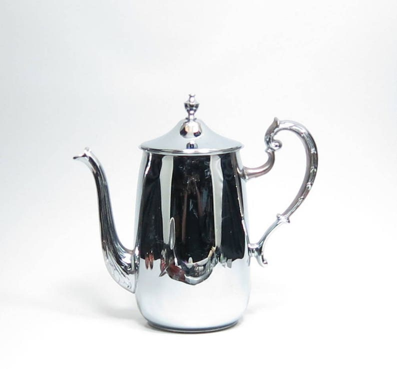 Danny Wilson Chrome Coffee Pot A Danny Wilson Original Chrome Lidded Teapot Mid Century Danny Wilson Original 4.5 Cup Chrome Teapot