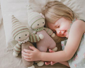 PATTERN - Cuddly-baby - amigurumi pattern, crochet pattern, doll pattern, amigurumi baby doll, crochet dolls, DIY, 5 languages