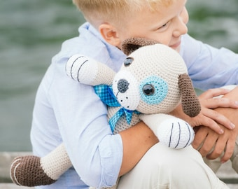 PATTERN - Big puppy - crochet pattern, amigurumi pattern, PDF
