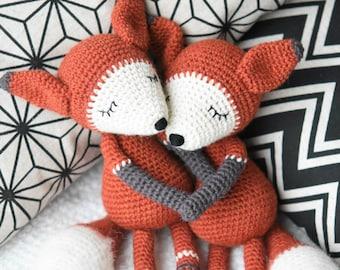 Amigurumi pattern - Mystique the Fox - crochet fox pattern - amigurumi fox - 5 languages