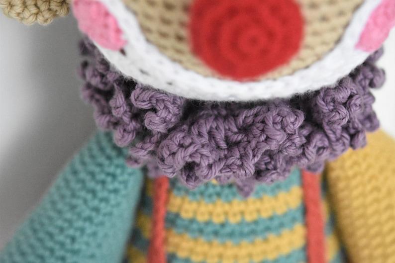 Clown Amigurumi – crochet pattern – Carmen Crochet | 529x794