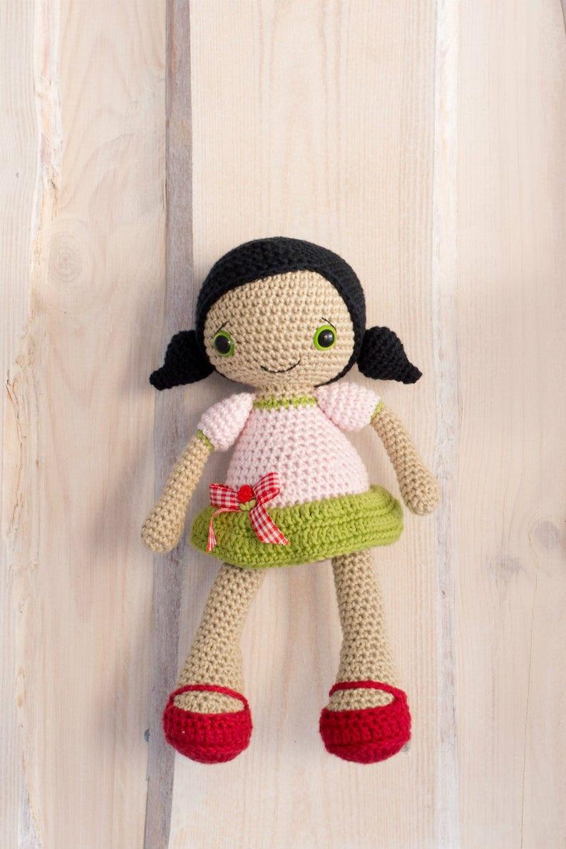 Pattern Sofia Doll Crochet Pattern Amigurumi Pattern Etsy