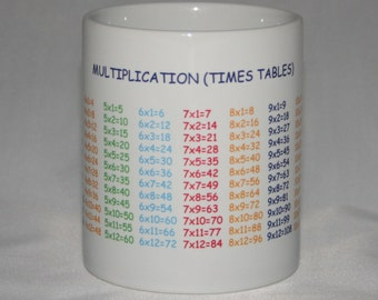 Multiplication (Times Table) Mug
