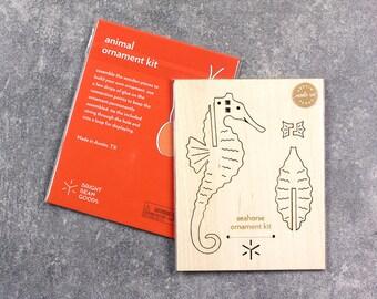 Seahorse Unicorn Ornament Kit