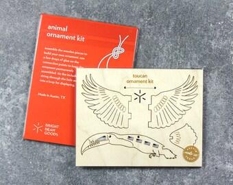 Toucan Ornament Kit