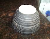 SALE Terra-cotta, 401 Vintage Pyrex Nesting Mixing Bowl 1.5PintFlat