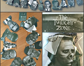 Twilight Zone Garland Banner