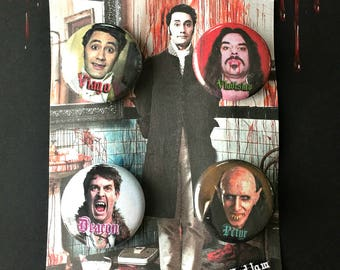What We Do In the Shadows - Vampire Button Set