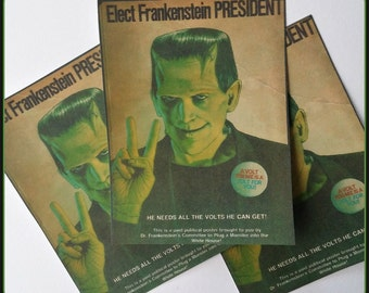 Frankenstein for President - Stickers