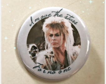 The Goblin King Jareth - Labyrinth Large Button