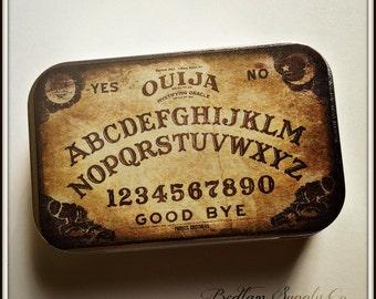 Mystifying Oracle - large tin pillbox / stash case