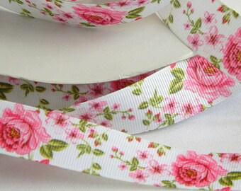 "5 Yds Pink Ballerina Shoes Girly Scrapbook Satin Ribbon 5//8/""W"