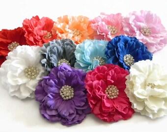 Coral silk flowers etsy mightylinksfo