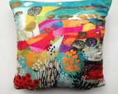 Natalie Rymers  Across The Forest Design Cushion Pillow 30x30cm