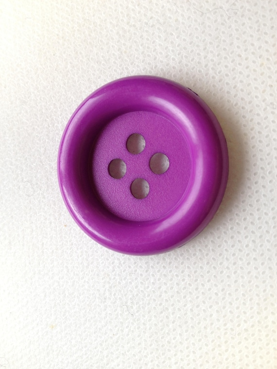 10 NEW 1 1//2 INCH PINK DULL//MATTE FINISH BUTTONS