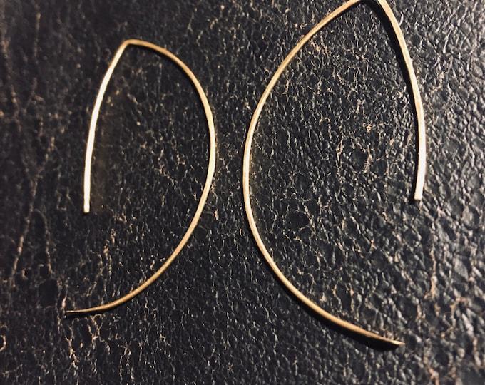 Akira Hoop/ Threader Earrings
