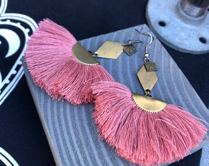 Remy Tassel Earrings
