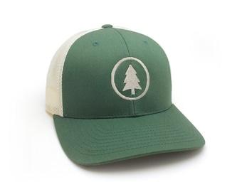 Trucker Hat - Classic Tree - Adjustable Men s Unisex Trucker Hat f6dbfb7cdadf