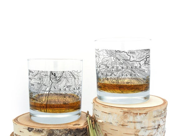 Whiskey Glasses  Rocky Mountain National Park Topographic Map