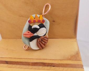 Chickadee King Pendant