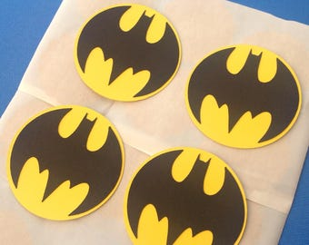 BATMAN STICKERS Super Heros Set of 10
