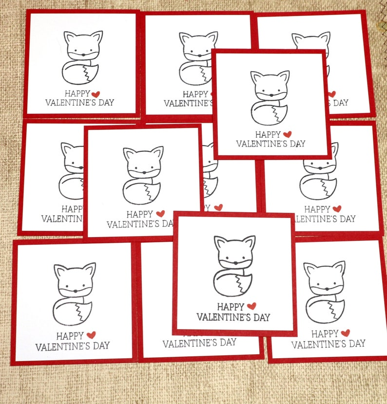 Kids Valentines Card Classroom Valentines School Valentines image 0