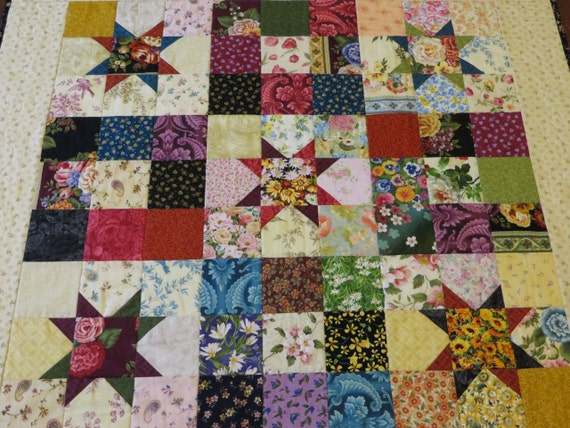 Quick And Easy Quilt Pattern For Pre Cut 40 Inch Squares Etsy Interesting Quilt Patterns With 5 Inch Squares
