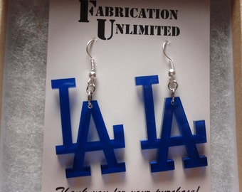 """CUSTOM Word or Design Earrings - Up to 5 letters, 2"""" long"""