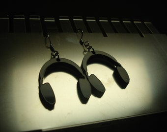 Headphone Acrylic Earrings