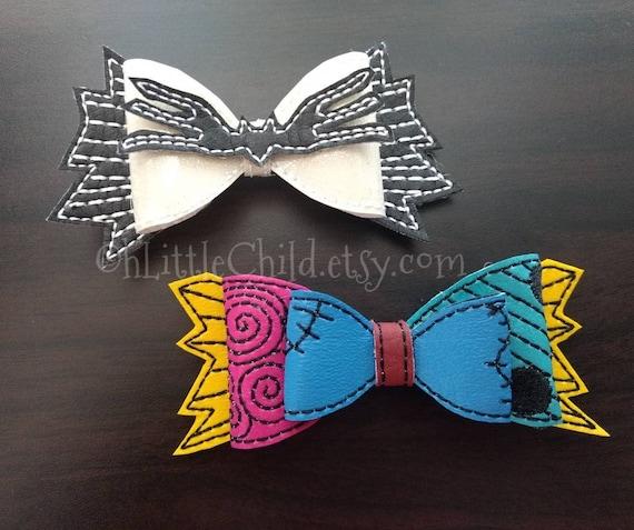 3D Elmo Vinyl Hair Bow
