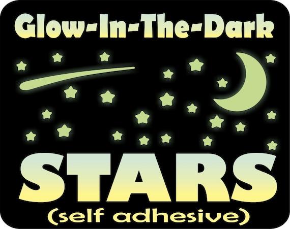 Glow In The Dark Stars Stars For Ceiling Glow Stars Glowing Stars Star Decals Glow Stickers Ceiling Stars Kids Room Wall Decor