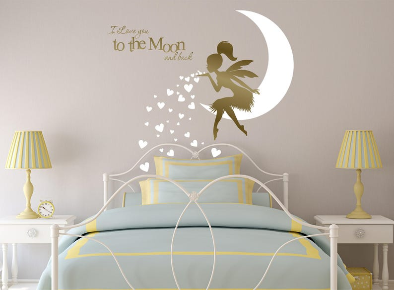 100% True 200 X Baby Nursery Gold Heart Wall Stickers Wall Decals Bedroom Mural Decor Wall Décor