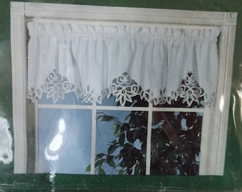 Battenburg Lace Curtains Etsy