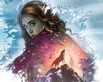 Children's Thriller Fantasy Book, Author Signed Book, The Slippery Slope, Epic Fantasy Fiction Book, Magdalena Gottschalk Series Book 2