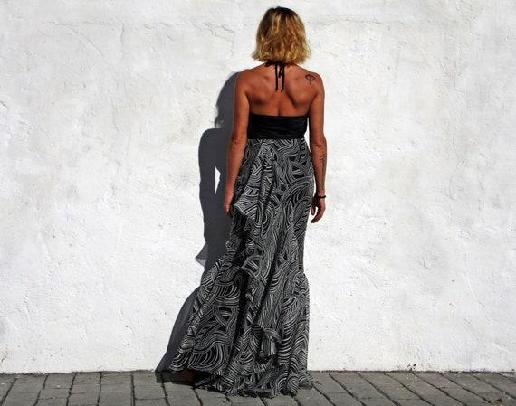 Carolina Herrera skirt maxi silk skirt maxi eveni… - image 4