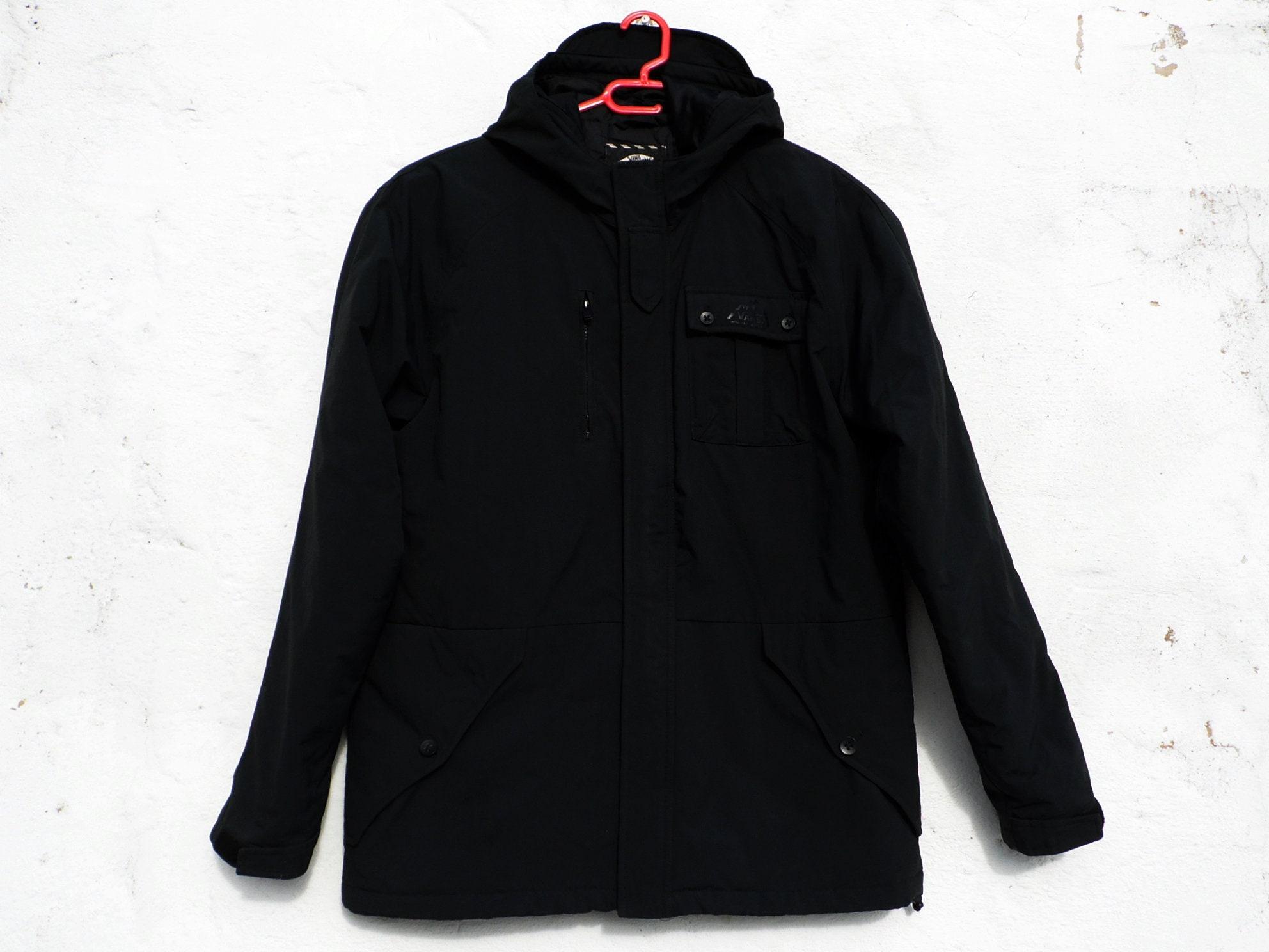 08c3dc9c27c Black jacket Vans jacket urban jacket hip hop jacket