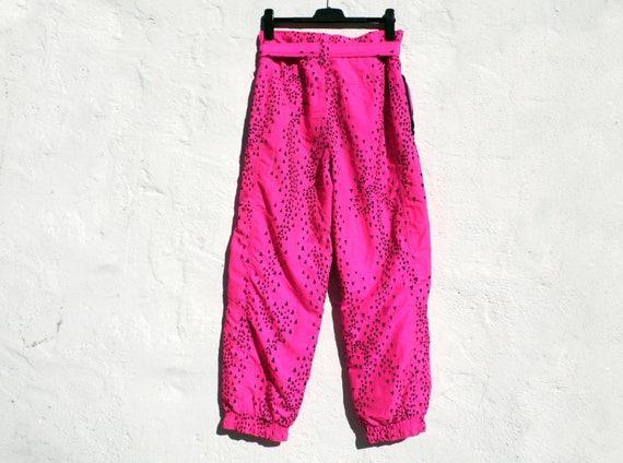 Pink ski pants hot pink ski trousers skiing pants winter  788e675bf