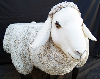 Sheep/ Lamb Sculpted Coffee Table by Karen Cullie