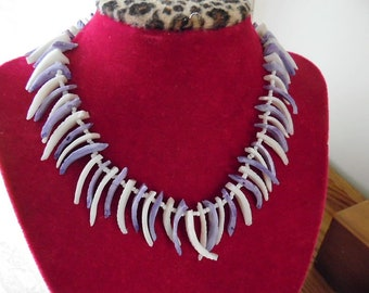 78ea132ab158 Gorgeous Shell Tusk Spike Necklace