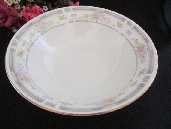 Vintage Farberware Fine China Serving Bowl Southampton 1992